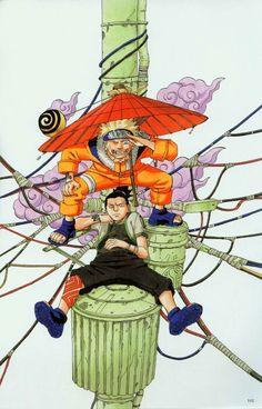 Naruto Uzumaki ArtBook 1 - 102