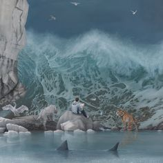 Joel Rea - The Promised Land (DETAIL) #joelrea #jonathanlevinegallery
