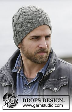 Ravelry: 0-1133 Finnley's Hat pattern by DROPS design
