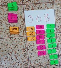 Place Value Math Centers - A Kinderteacher Life Math Classroom, Kindergarten Math, Teaching Math, Preschool, Math For Kids, Fun Math, Math Stations, Math Centers, Kids Learning Activities