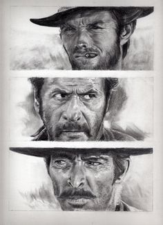 The good the bad and the ugly by brucethebandit.deviantart.com