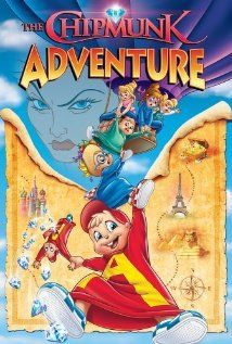 The Chipmunk Adventure (movie) - honestly one of my fav kid movies.  I still love to watch it when I am feeling under the weather ;-)