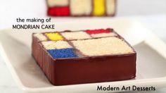 The Making of Mondrian Cake (Enhanced)