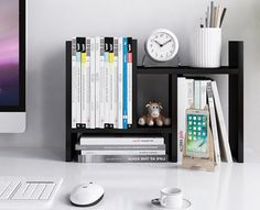 b57b4bbee6 A wooden desktop organizer for getting your office space in order and  looking like perfection.