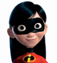 *VIOLET PARR (daughter) ~ The Incredibles, 2004