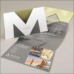30 die cut brochures #design