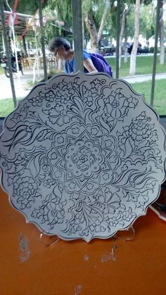 Woodburning, Ceramic Painting, Mandala Art, Coloring Pages, Decoupage, Art Drawings, Outdoor Blanket, Pottery, Modern