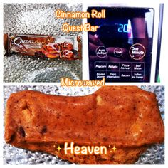 This says it all. Quest protein bars are amazing heated up!