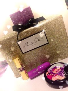DIY Dior Perfume Bottle