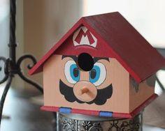 Mario birdhouse
