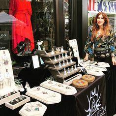Summer Fest, West Seattle, Say Hi, Jewellery Display, Table Runners, Table Settings, Printing, Artist, Fabric