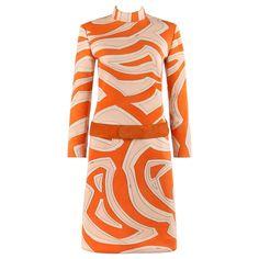 Best Party Dresses, Day Dresses, Printed Gowns, 1960s Fashion, Vintage Fashion, Runway Fashion, Vogue, Vintage Couture, Emilio Pucci