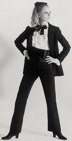 Le Smoking trouser suit 1966, Yves Saint Laurent