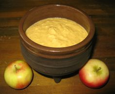 Pommesmoille—apple pudding