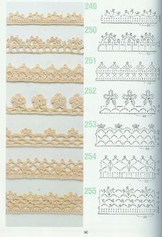 262 Patrones de crochet Hermosos patrones para los amantes del crochet