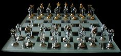 Swarovski Crystal Staunton Chess Set (Medium)-Swarovski Crystal Staunton Chess Set (Medium) This set uses Swarovski crystal for the bodies. Future Games, Kings Game, Mind Games, Chess Pieces, Table Games, World Cultures, Chess Sets, Swarovski Crystals, Chess Boards