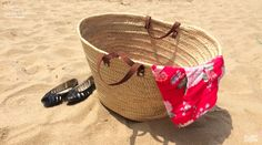 #Panier #Summer #Plage #Vendee #France #Short #Flowers #Look #Retro #Vintage #Basket #Francaise #FrenchTouch #Style #Outfit #Mode