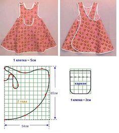 Moldes de vestidos de bebé gratis - Imagui