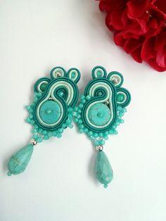 Soutache earrings by MaNiko https://www.facebook.com/maniko2013