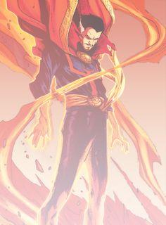 Stephen Strange in New Avengers 18