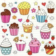 birthday doodles - Buscar con Google ~ #cupcakeart #foodart #doodleinspo