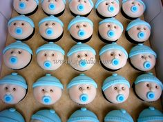 Cupcakes baby shower Baby Shower Cupcakes, Baby Carriage, Sweet Recipes, Cupcake Cakes, Shower Ideas, Projects To Try, Cake Pops, Favorite Recipes, Desserts
