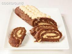 Rotolo al cioccolato con crema al cappuccino: Ricette Dolci | Cookaround