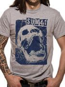 Officially licensed Sum 41 t-shirt design printed on a 100% cotton short sleeved T-shirt.