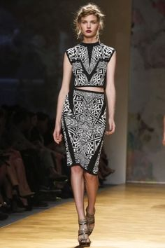 Nicole Miller Ready To Wear Spring Summer 2014 New York