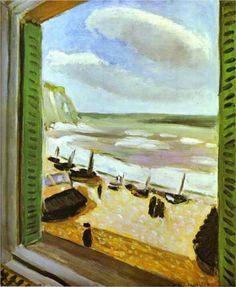 Open Window at Collioure - Henri Matisse.  I love this painting...