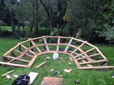 wood berm step 2