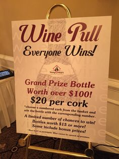 Charity Auctioneer Jim Miller - Professional Charity & Benefit Auction Consultant - Based in Chicago - Benefit Auction Photo Gallery - Wine Wall for Your Charity AuctionFundraiser