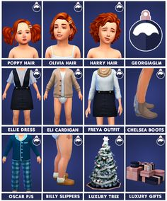 Festive Pack - by Georgiaglm Here it finally is, I've worked so hard on this unofficial pack for Sims 4 and I'm proud to present 15 Maxis match items for you toddler and child sims that are base game. Sims Free Play, Play Sims, Sims Four, Sims 4 Mm Cc, Sims 1, Sims 4 Mods, Sims 4 Toddler, Sims Baby, The Sims 4 Bebes