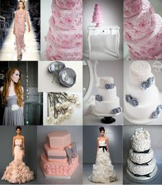 Cakes Inspired by Fashion - Cake by Sugar Ruffles Wedding Gown Cakes, Elegant Wedding Cakes, Cool Wedding Cakes, Elegant Cakes, Wedding Cake Designs, Bridal Gowns, Beautiful Cakes, Amazing Cakes, Fondant