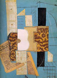 TICMUSart: The guitar - Pablo Picasso (1913) (I.M.)