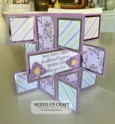 Flip Cards, Fancy Fold Cards, Pop Up Cards, Folded Cards, Handmade Card Making, Handmade Birthday Cards, Card Making Tutorials, Card Making Techniques, Trifold Shutter Cards