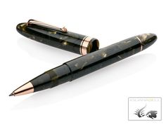 Omas Ogiva Saft Green Rollerball pen, Rose gold trim, Limited Edition O09B0053 Farewell Gifts, Rollerball Pen, Rose Gold, Green, Juice, Going Away Gifts