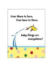 Dr. Seuss Baby Shower Invitations-Party City