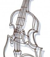 VIolin, wire drawing