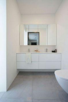 Kylpyhuonekalusteet kosteuden kestävänä - tyylistä tinkimättä I AINA Double Vanity, Interior Design, Bathroom, Furniture, Home Decor, Full Bath, House, Nest Design