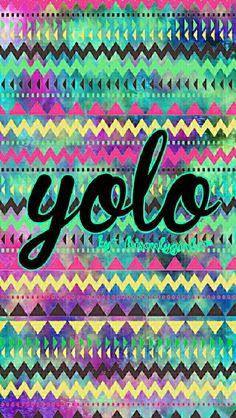 YOLO galaxy wallpaper I created for the app CocoPPa.
