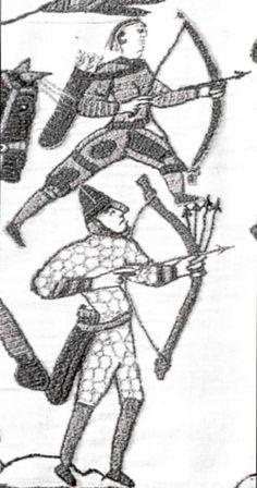 Pfeil und Bogen im Mittelalter