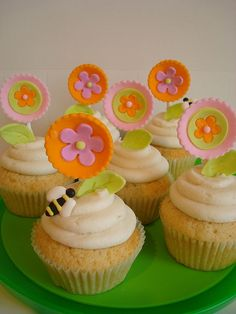 Lollipop Flowers by Happiness in a Bite, via Flickr