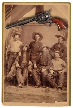 "Originally designed as a cavalry sidearm and dubbed the ""Strap Pistol"" by Colt, the 1873 Single Action Army revolver was named the ""Peacemaker"" by B. Kittredge & Co., one of Colt's major distributors. That name stuck, and the firearm's excellent balance, powerful metallic cartridge loadings, ruggedness and accuracy made it the perfect revolver for the frontier."