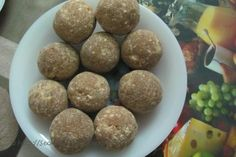 How to make Avalose Unda (Roasted Rice Powder Balls) - Indian Recipes, Vegetarian Recipes (Make with alternative sweetener)