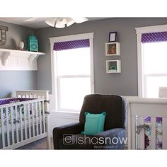 My fave color combo for a baby girl nursery