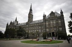 Georgetown University in Washington, DC. Founded in Georgetown is America's oldest Catholic university. My dream university Georgetown University, University Of Washington, Washington Dc, Georgetown Washington, Catholic University, University University, Us Universities, Dc Travel, Mansions