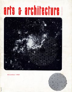 An Eames Anthology: page 25  Arts & Architecture cover by Ray Eames   http://shop.eamesoffice.com/an-eames-anthology.html
