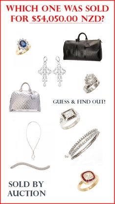 Guess and find out by clicking the link. (The first one is the answer.)  #jewelry #bags #handbags #auction