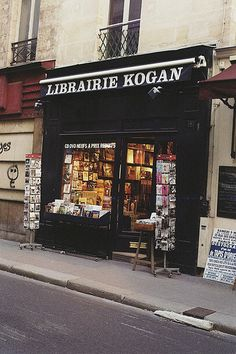 la librairie Kogan, 15 Rue du Bac, Paris, 75007
